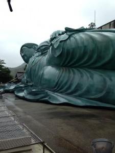 釈迦涅槃像2